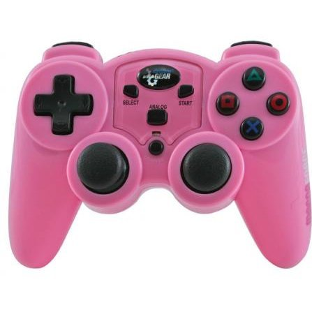 DreamGear MAGNA FORCE 2.4GHZ RF WIRELESS CONTROLLER (Pink)