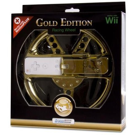 DreamGear Motion Plus Wheel Limited Edition - Gold