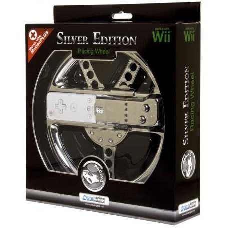 DreamGear Motion Plus Wheel Limited Edition - Silver