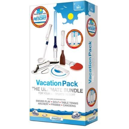 DreamGear Vacation Pack for Wii (7 in 1) - White