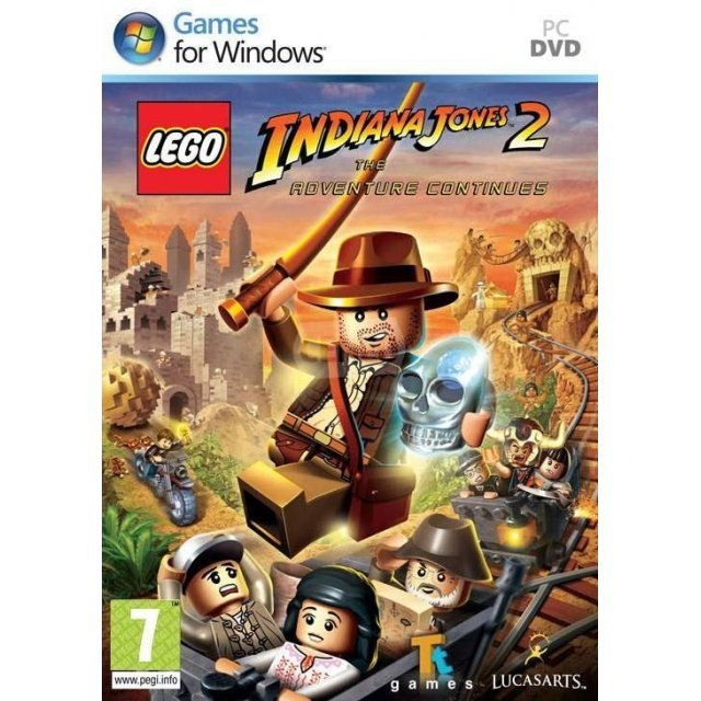 LEGO Indiana Jones 2: The Adventure Continues (DVD-ROM)