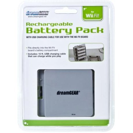 DreamGear Rechargeable Battery Pack for Wii Fit - Gray