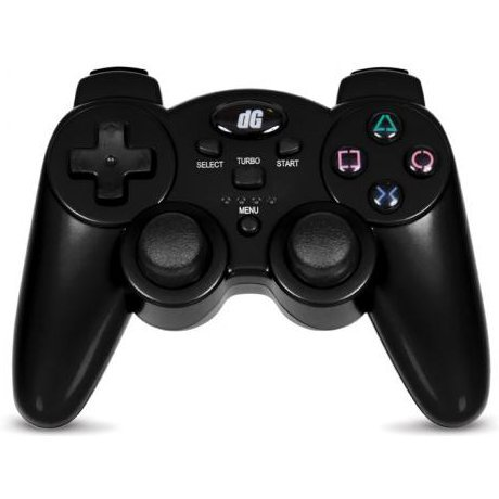 DreamGear Radium Wireless Controller with SIXAXIS (Metallic Black)