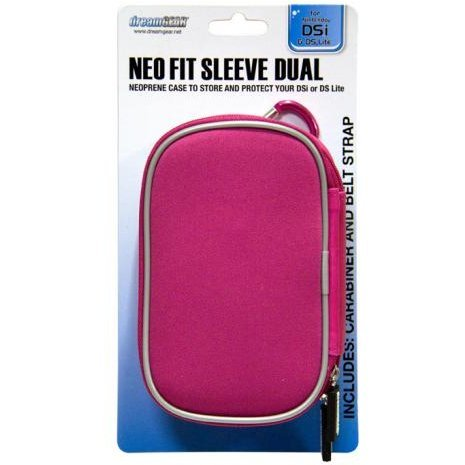 DreamGear Neo Fit Sleeve Dual - Pink