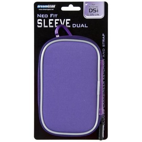 DreamGear Neo Fit Sleeve Dual - Purple