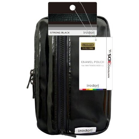 Enamel Pouch for 3DS LL (Strong Black)