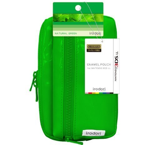 Enamel Pouch for 3DS LL (Natural Green)
