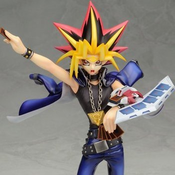 Yu-Gi-Oh! Duel Monsters 1/7 Scale Pre-Painted PVC Figure: Yami Yugi - Koto Shop Exclusive - (Re-run)