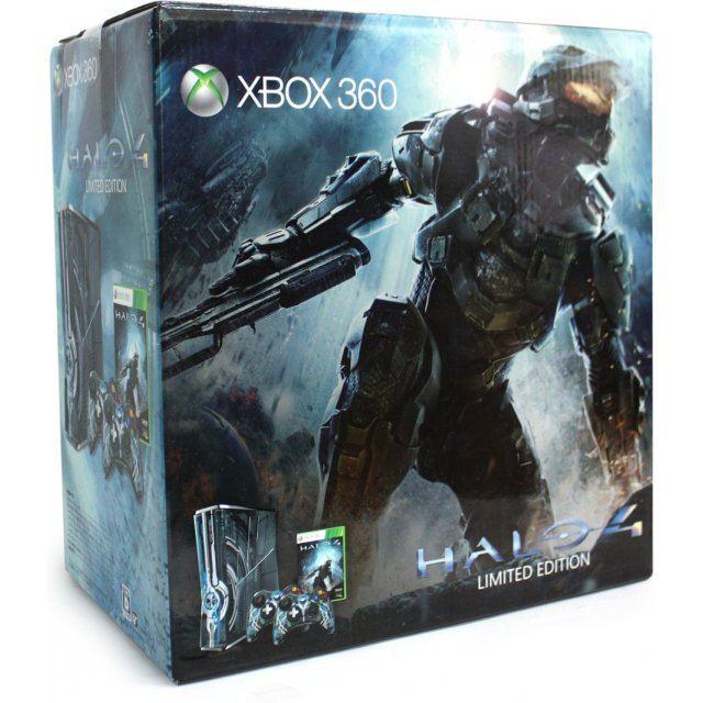 X-box 360: halo 4 edition xbox 360, halo 4 limited edition.