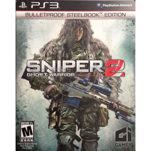Sniper: Ghost Warrior 2 (Bulletproof SteelBook Edition)