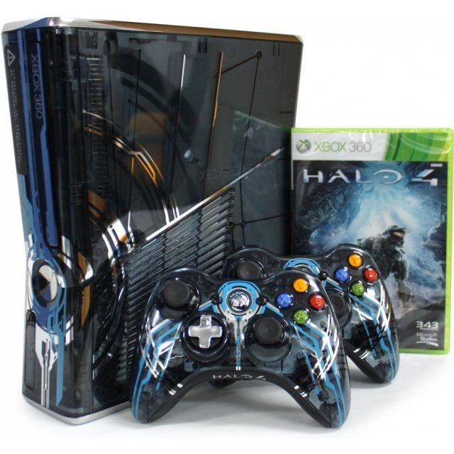 Xbox 360 slim console (320gb) halo 4 limited edition.