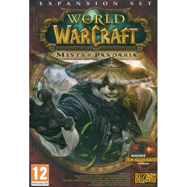 World of Warcraft: Mists of Pandaria (DVD-ROM)