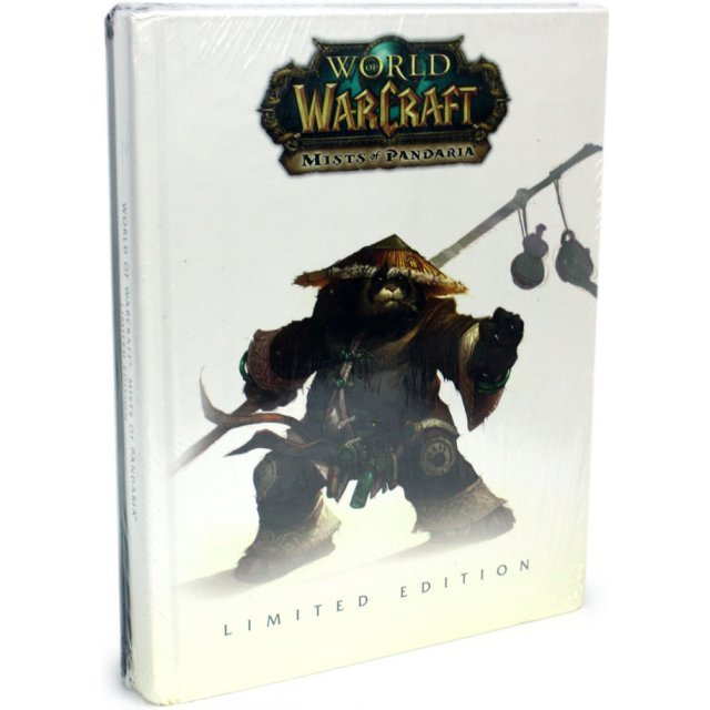 world  warcraft mists  pandaria limited edition guide