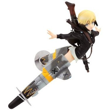 Strike Witches 2 1/8 Pre-Painted PVC Figure: Erica Hartmann Alter Ver.