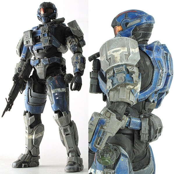 Halo 1/6 Scale Pre-Painted PVC Figure: Commander Carter