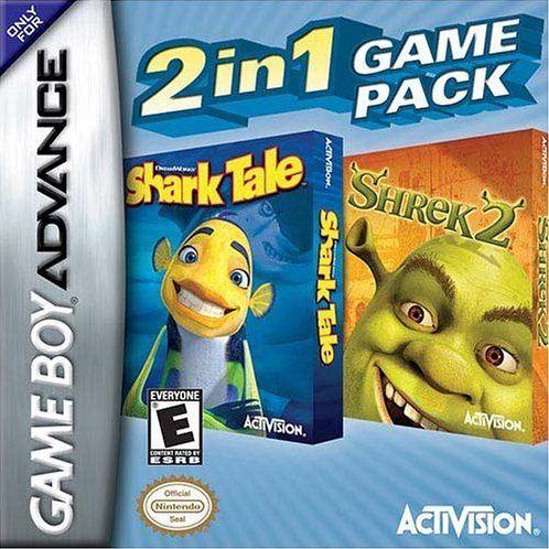 2 In 1 Game Pack: Shrek 2 / Shark Tale