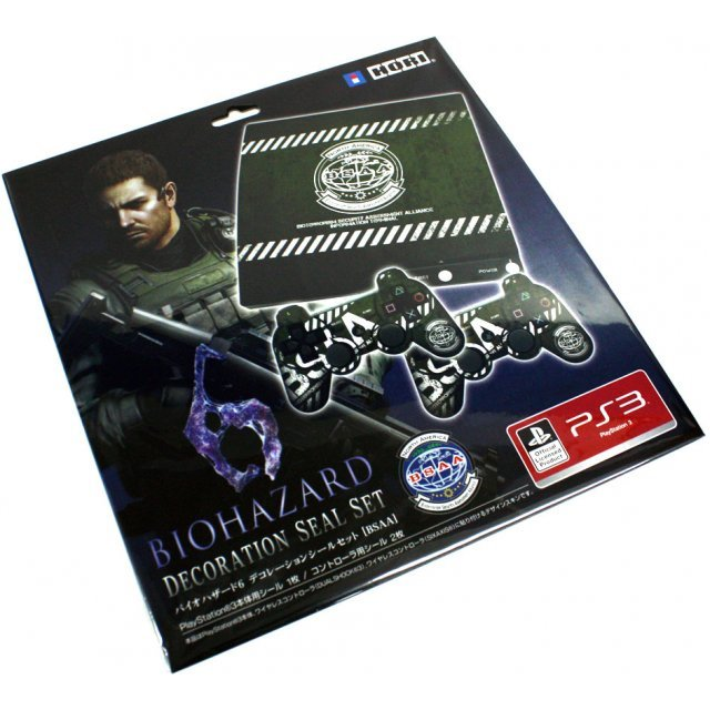 Biohazard 6 Decoration Seal Set for PS3 (BSAA Edition)