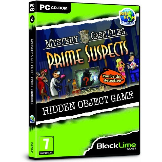 Mystery Case Files: Prime Suspects (Black Lime)