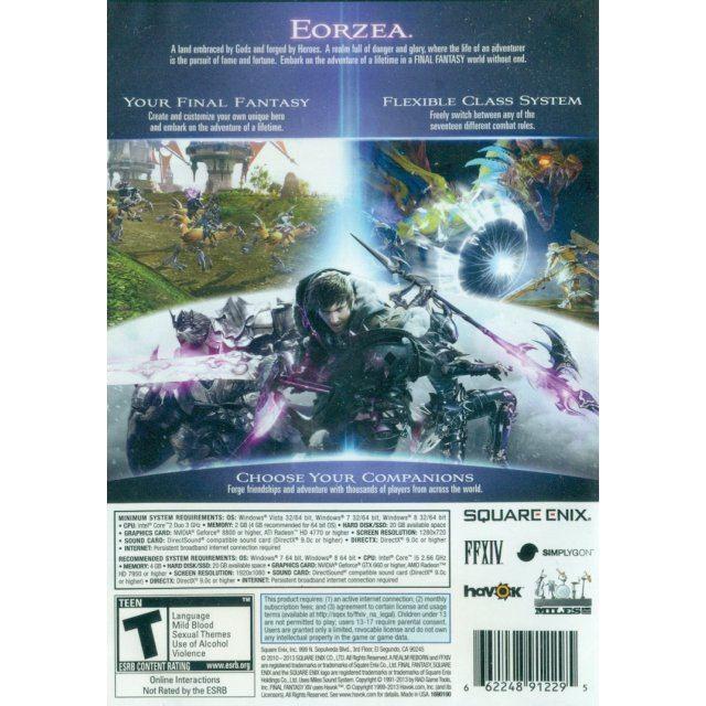 Final Fantasy XIV: A Realm Reborn (DVD-ROM)