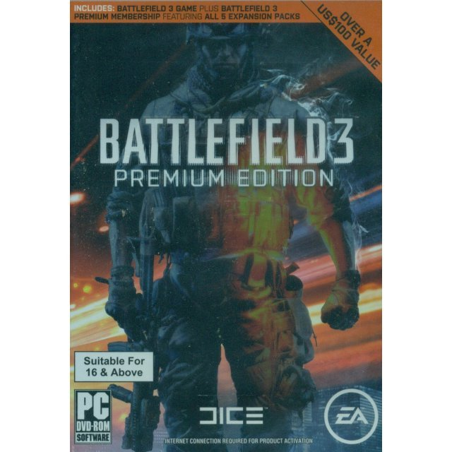 Battlefield 3 (Premium Edition) (English Version) (DVD-ROM)