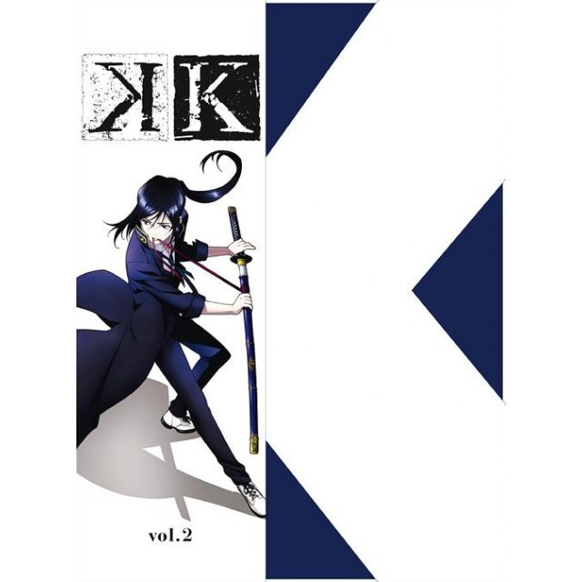 K Vol.2 [Blu-ray+CD Limited Pressing]