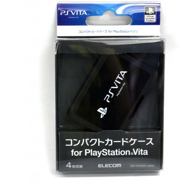 PlayStation Vita Card Case 4 (Black)