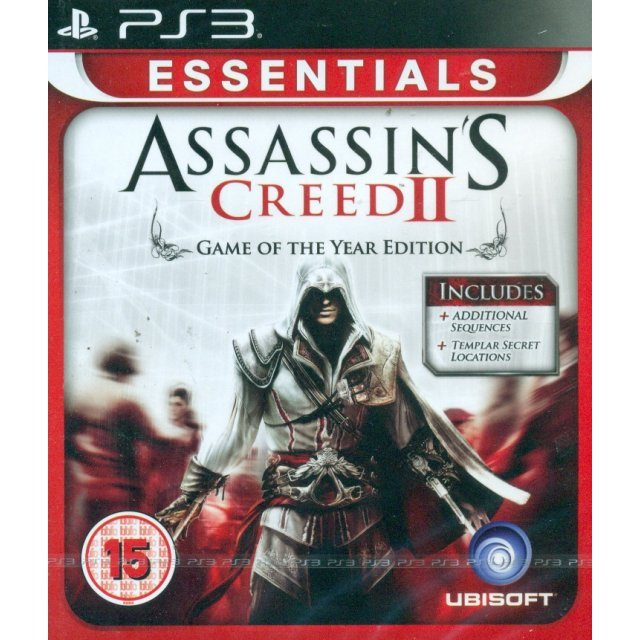 Assassin S Creed Ii Game Of The Year Edition Essentials
