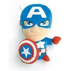 Comic Images Marvel Super Deformed Plush: Captain America