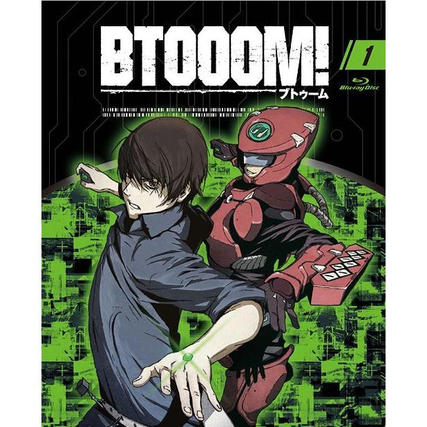 Btooom 01 [Blu-ray+CD Limited Edition]