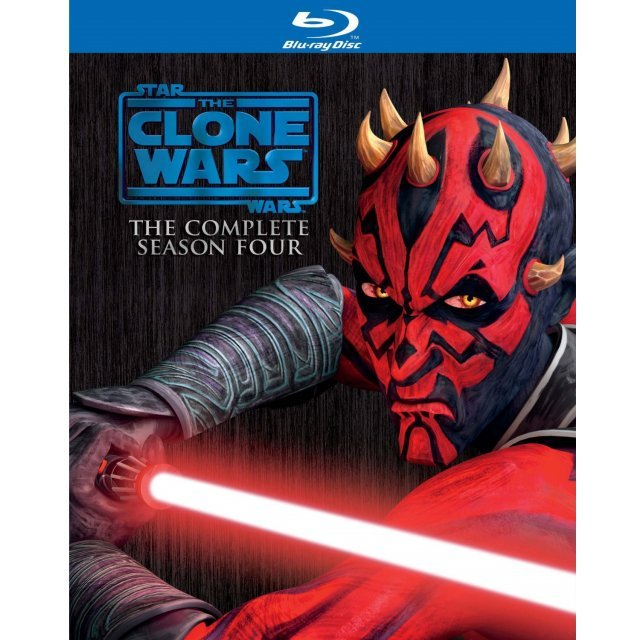 Star Wars: The Clone Wars Fourth Season Complete Box [Limited Edition]