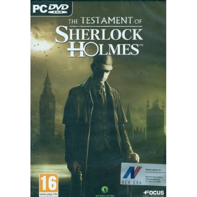 The Testament of Sherlock Holmes (DVD-ROM)