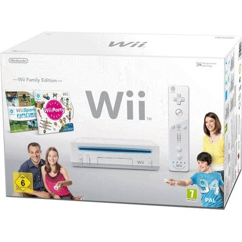Nintendo Wii Bundle Family Edition (incl. Wii Sports & Wii Party)