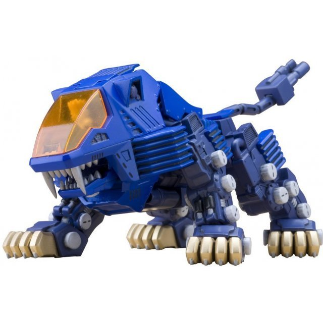 Zoids Non Scale Pre-Painted Plastic Model Kit: D-Style Shield Liger