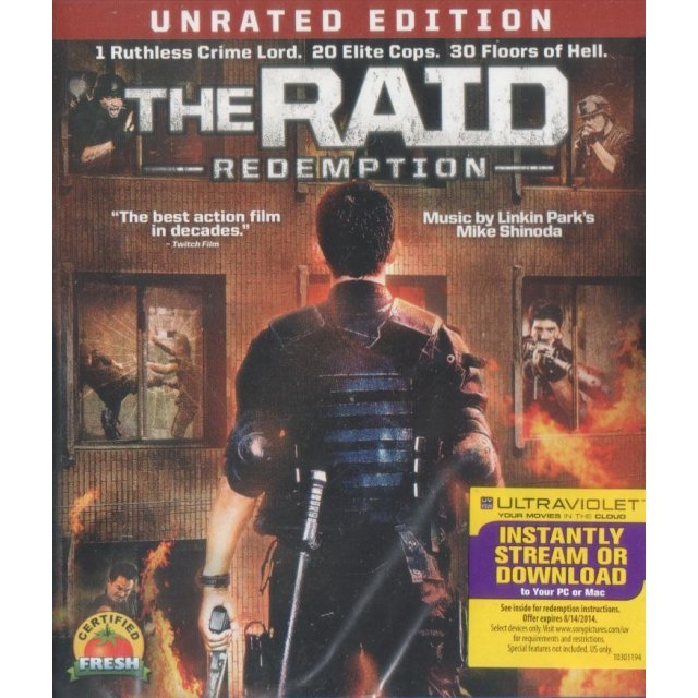 The Raid: Redemption [Blu-ray+UltraViolet]