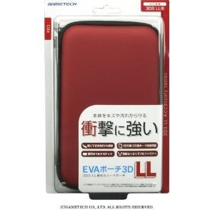 EVA Pouch for 3DS LL (Red)