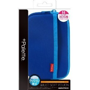 +Palette Multi Soft Pouch for 3DS (Sapphire Blue)