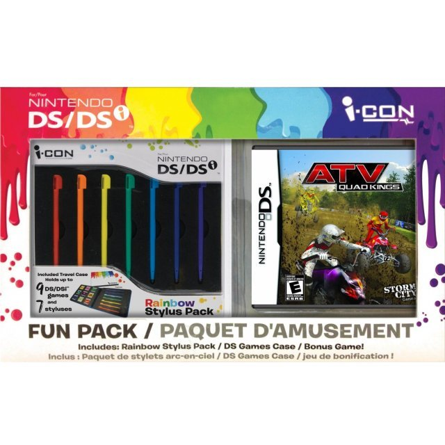 ATV Quad Kings with Rainbow Stylus Bundle