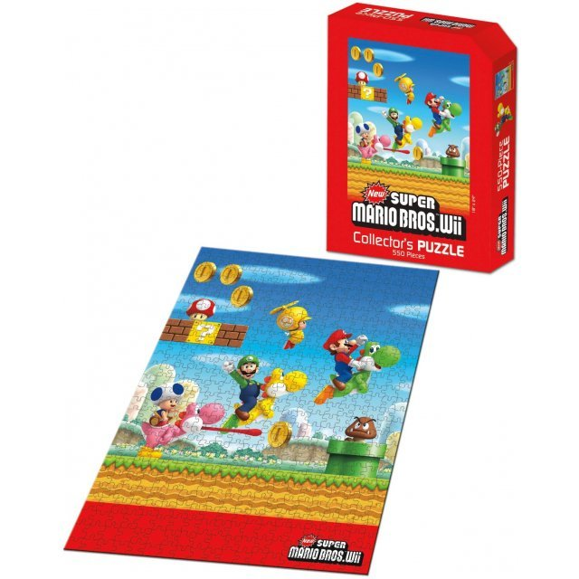 New Super Mario Bros. Wii Puzzle (550 pcs)