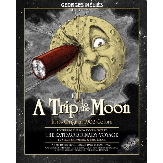 A Trip To The Moon [Blu-ray+DVD]