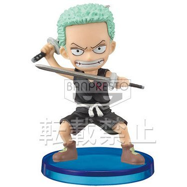 One Piece World Collectable Pre-Painted PVC Figure Vol.27: Roronoa Zoro