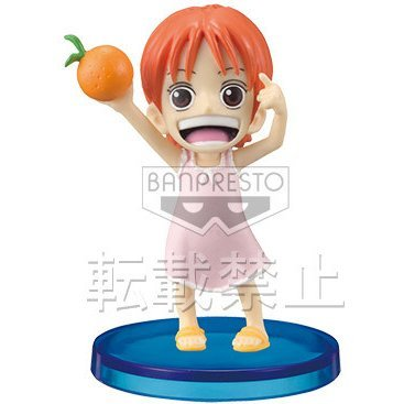 One Piece World Collectable Pre-Painted PVC Figure Vol.27: Nami