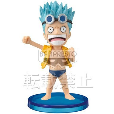 One Piece World Collectable Pre-Painted PVC Figure Vol.27: Franky