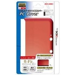 PC Cover for 3DS LL (Clear Red)