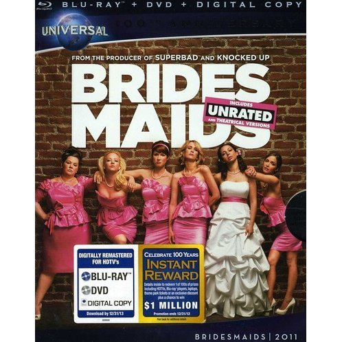Bridesmaids [Blu-ray+DVD+Digital Copy]