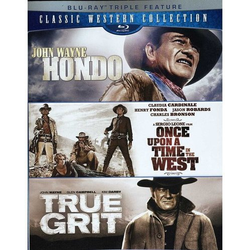 Classic Western Collection (Hondo / Once Upon a Time in the West / True Grit)