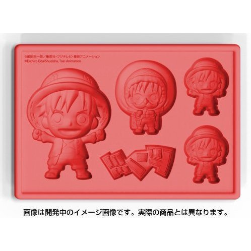One Piece New World Version Silicone Ice Tray: Luffy