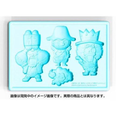 One Piece New World Version Silicone Ice Tray: Usopp & Franky & Brook