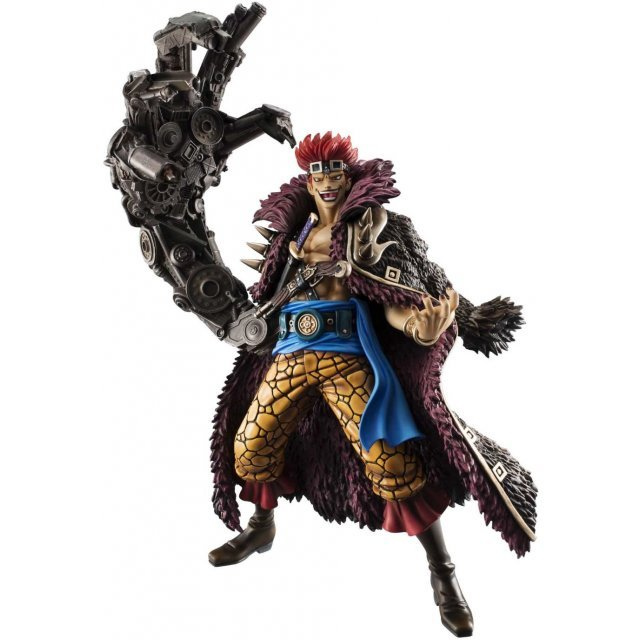 Excellent Model Portrait.Of.Pirates One Piece Series NEO-Maximum 1/8 Scale Pre-Painted PVC Figure: Eustass 'Captain' Kid