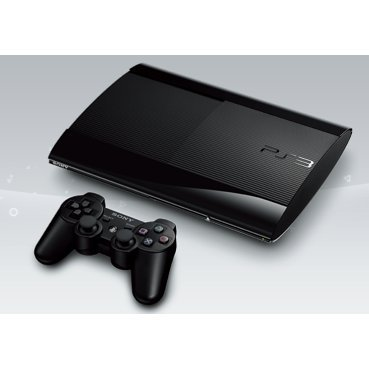 PlayStation3 New Slim Console (500GB Charcoal Black Model) - 110V