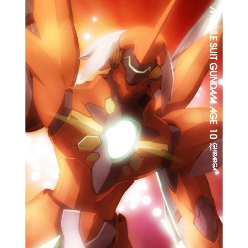 Mobile Suit Gundam Age Vol.10 [Deluxe Limited Edition]